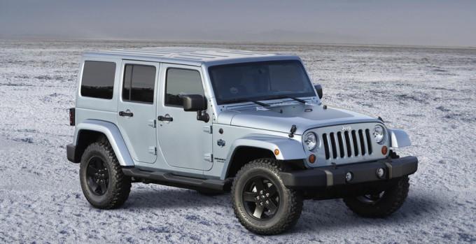 2012 Jeep Wrangler Unlimited Arctic